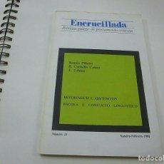 Coleccionismo de Revistas y Periódicos: ENCRUCILLADA NUMERO 21- REVISTA GALEGA DE PENSAMIENTO CRISTIAN -N 8. Lote 206145260