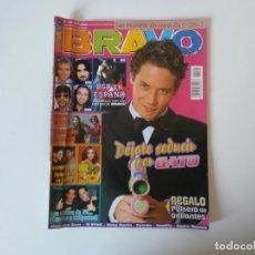 Coleccionismo de Revistas y Periódicos: REVISTA BRAVO N° 129 1995 GATO BRITNEY SPEARS GRAN HERMANO BRAD PITT ALEJANDRO SANZ ESTOPA. Lote 206191520