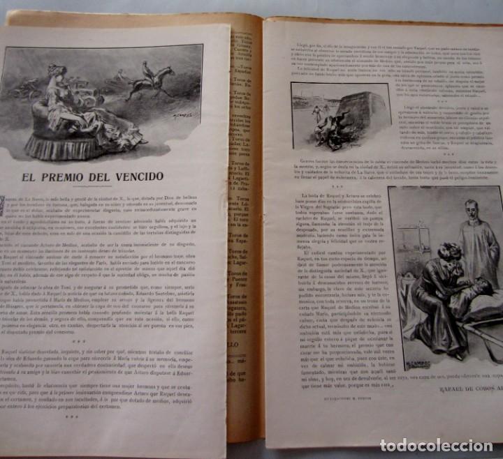 Coleccionismo de Revistas y Periódicos: Letras y Figuras nº 25 22 Julio 1911 Héroes Tarragona Moneda falsa Barcelona Zamora Zaragoza huelga - Foto 2 - 206216781