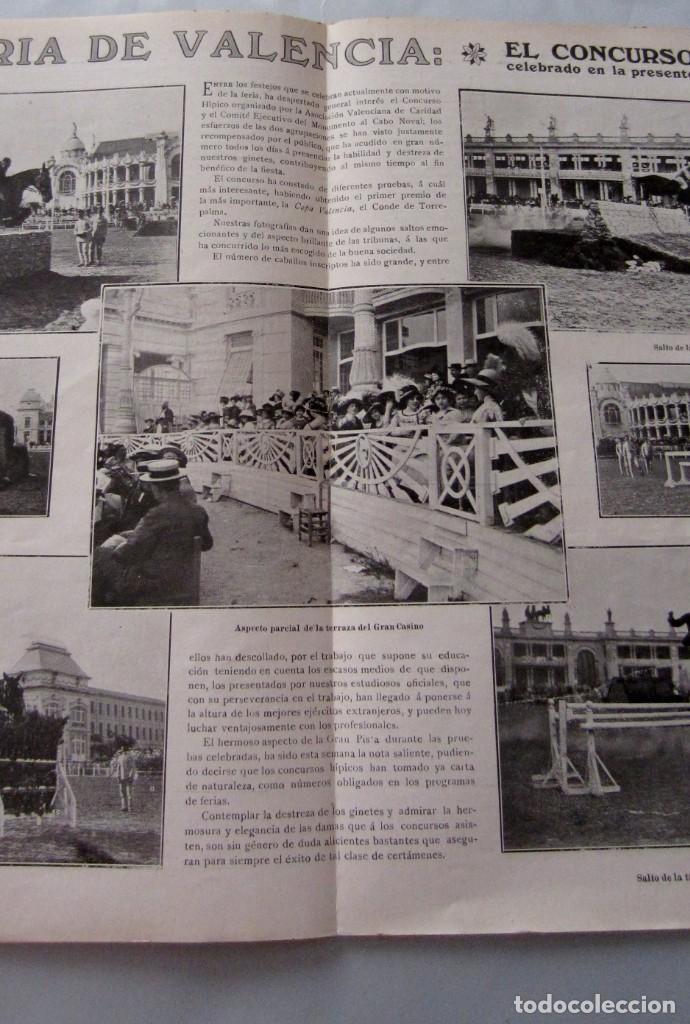 Coleccionismo de Revistas y Periódicos: Letras y Figuras nº 25 22 Julio 1911 Héroes Tarragona Moneda falsa Barcelona Zamora Zaragoza huelga - Foto 5 - 206216781