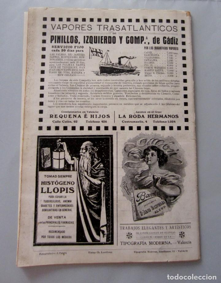 Coleccionismo de Revistas y Periódicos: Letras y Figuras nº 25 22 Julio 1911 Héroes Tarragona Moneda falsa Barcelona Zamora Zaragoza huelga - Foto 7 - 206216781