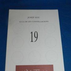 Coleccionismo de Revistas y Periódicos: (M) REVISTA VÈRTEX N.19 JOSEP SOU AUCA DE LES CONSTE·LACIONS , EDICIÓ DE 191 EXEMPLARS. Lote 206216853