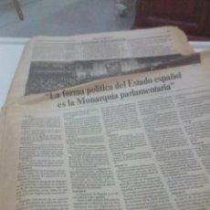 Coleccionismo de Revistas y Periódicos: REVISTA EL PAIS. VIERNES 25 NOVIEMBRE 1977. SIN PORTADA. EST1B2. Lote 206331305