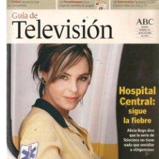 Coleccionismo de Revistas y Periódicos: GUÍA DE TELEVISIÓN. Nº 103. HISPITAL CENTRAL/LUIS MIGUEL/CAYETANA GULLÉN CUERVO. 18/X/2002(ST/P). Lote 206391835