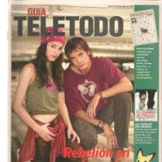 Coleccionismo de Revistas y Periódicos: GUÍA TELETODO. COMPAÑEROS/ ISABEL PANTOJA / ROSA/ 17/5/2002(ST/P). Lote 206392971