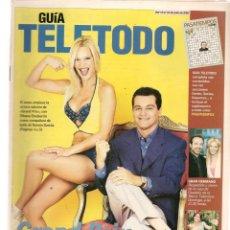 Coleccionismo de Revistas y Periódicos: GUÍA TELETODO. GRAND PRIX / MARTA SÁNCHEZ/ ROCÍO JURADO/ . 12/7/2002(ST/P). Lote 206418317