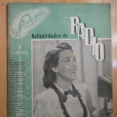 Coleccionismo de Revistas y Periódicos: REVISTA SINTONIA, ACTUALIDADES DE RADIO, Nº 12, 1947. PORTADA IMPERIO ARGENTINA,. Lote 206469993