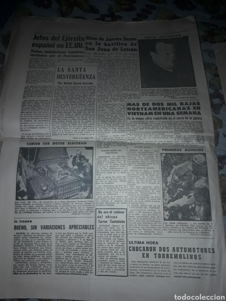 Coleccionismo de Revistas y Periódicos: Diario Sur completo viernes 24 de de Marzo de 1967. - Foto 4 - 206578013