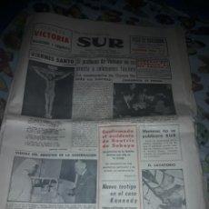 Coleccionismo de Revistas y Periódicos: DIARIO SUR COMPLETO VIERNES 24 DE DE MARZO DE 1967.. Lote 206578013