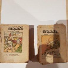 Coleccionismo de Revistas y Periódicos: ESQUITX SUPLEMENT D'EN PATUFET TEBEO COMIC AÑOS 30 - 160 EJEMPLARES. Lote 206580242