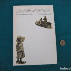 Coleccionismo de Revistas y Periódicos: BARCAROLA Nº 4 SEP.1980. REVISTA LITERARIA. Lote 206587635