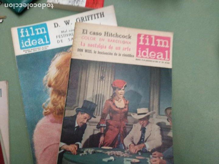 Coleccionismo de Revistas y Periódicos: Film Ideal - Lote 37 Revistas - Bien conservadas - Foto 9 - 206828525