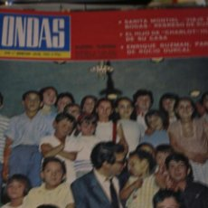 Coleccionismo de Revistas y Periódicos: CANTINFLAS MICHAEL CHAPLIN SARA MONTIEL MILVA LUIS MARIANO ENRIQUE GUZMAN 1964. Lote 206829028