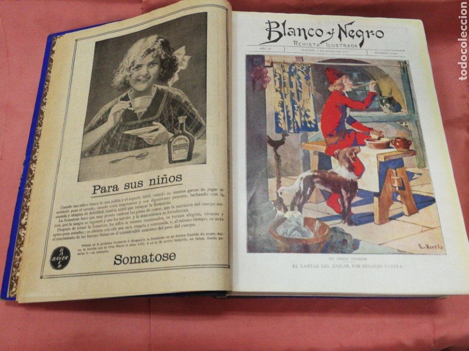 BLANCO Y NEGRO 1913. II SEMESTRE. (Coleccionismo - Revistas y Periódicos Antiguos (hasta 1.939))