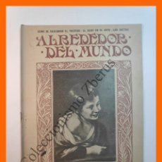 Coleccionismo de Revistas y Periódicos: ALREDEDOR DEL MUNDO Nº430 28 AGOSTO 1907 - OCEANO PACIFICO; SUCESOS EN CASABLANCA; CAFE TURCO. Lote 206970588