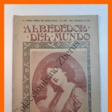 Coleccionismo de Revistas y Periódicos: ALREDEDOR DEL MUNDO Nº433 18 SEPT 1907 - H.M. STANLEY; DE LA OVEJA AL SASTRE; NAPOLEON REY DE ELBA. Lote 206972302