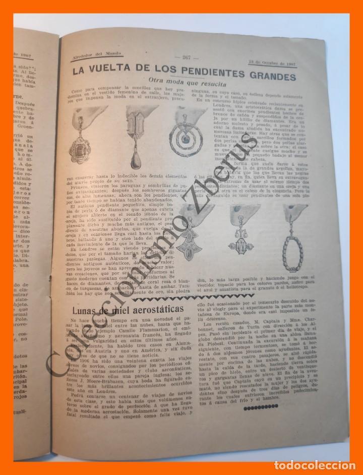Coleccionismo de Revistas y Periódicos: Alrededor del Mundo nº438 23 Oct 1907 - Ultimos días de Sagunto; Numero trece; Ordenes de caballeria - Foto 4 - 206975005