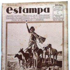 Coleccionismo de Revistas y Periódicos: ESTAMPA, REVISTA GRÁFICA Y LITERARIA. 17 DE SEPTIEMBRE DE 1929, N.º 88.. Lote 206977335