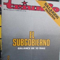 Collezionismo di Riviste e Giornali: TRIUNFO REVISTA Nº 707 - 14-08-1976 - EL SUBGOBIERNO - BALANCE DE 30 DIAS. Lote 206977823