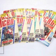 Coleccionismo de Revistas y Periódicos: CONJUNTO DE 35 REVISTAS DE VIDEOJUEGOS MICROMANÍA - NÚMEROS 1 AL 40 - HOBBY PRESS, AÑOS 90. Lote 206977906