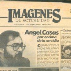 Coleccionismo de Revistas y Periódicos: NUMULITE * IMÁGENES DE LA ACTUALIDAD AÑO 1 Nº 1 1985 BARCELONA ANGEL CASAS .... Lote 207046085