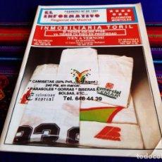 Coleccionismo de Revistas y Periódicos: EL INFORMATIVO REGIONAL DE MADRID N° 99 1993. ALCORCÓN Y MÓSTOLES. RARA.. Lote 207079635
