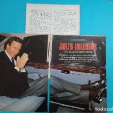 Coleccionismo de Revistas y Periódicos: JULIO IGLESIAS SIN REMORDIMIENTOS- ENTREVISTA- - RECORTE 4 PAG..- AÑO 1995. Lote 207114171
