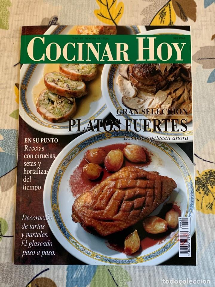 REVISTA COCINAR HOY, OCTUBRE DE 1994. GRAN SELECCIÓN DE PLATOS FUERTES. NUEVA. (Coleccionismo - Revistas y Periódicos Modernos (a partir de 1.940) - Otros)