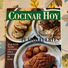 Coleccionismo de Revistas y Periódicos: REVISTA COCINAR HOY, OCTUBRE DE 1994. GRAN SELECCIÓN DE PLATOS FUERTES. NUEVA.. Lote 207117220
