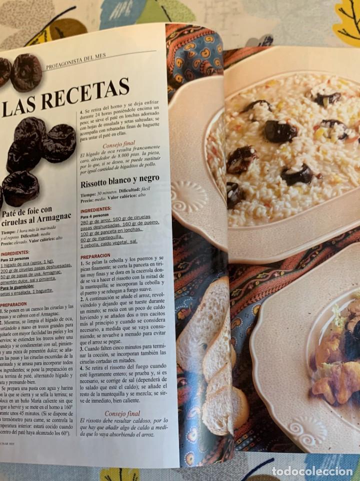 Coleccionismo de Revistas y Periódicos: Revista Cocinar Hoy, Octubre de 1994. Gran selección de platos fuertes. Nueva. - Foto 3 - 207117220
