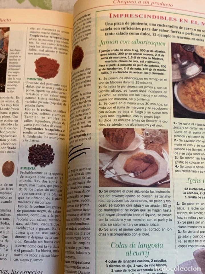 Coleccionismo de Revistas y Periódicos: Revista Cocinar Hoy, Octubre de 1994. Gran selección de platos fuertes. Nueva. - Foto 7 - 207117220