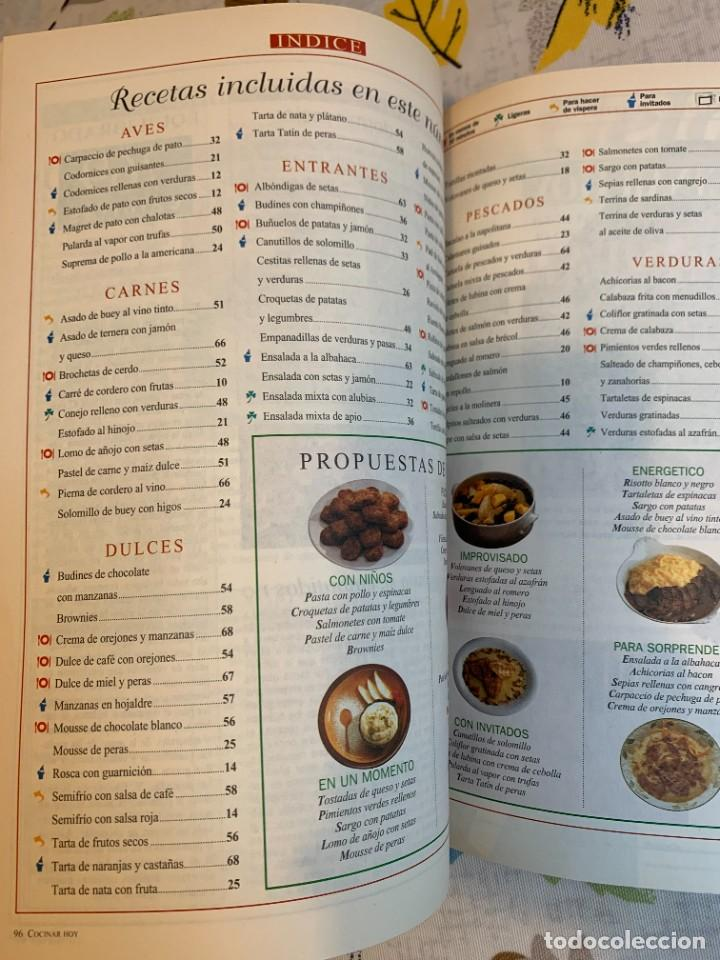 Coleccionismo de Revistas y Periódicos: Revista Cocinar Hoy, Octubre de 1994. Gran selección de platos fuertes. Nueva. - Foto 9 - 207117220