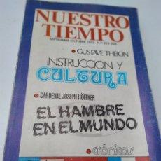Coleccionismo de Revistas y Periódicos: NUESTRO TIEMPO NÚMERO S 255-256AÑO 1975. Lote 207118383