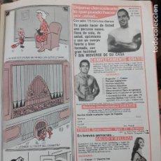 Coleccionismo de Revistas y Periódicos: ANUNCIO BEEFCAKE MUSCULOS. Lote 207118447