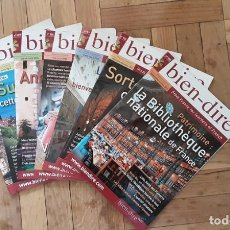 Coleccionismo de Revistas y Periódicos: BIEN DIRE - INTERMEDIAIRE À AVANCE - LOTE 7 REVISTAS. Lote 207118542