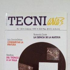 Coleccionismo de Revistas y Periódicos: REVISTA TECNIARTE N° 38. OCTUBRE. 1992. TDKC56. Lote 207119257