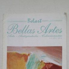Coleccionismo de Revistas y Periódicos: REVISTA: BELART. BELLAS ARTES. Nº 3. 1993. TDKC56. Lote 207119517