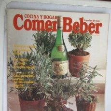 Coleccionismo de Revistas y Periódicos: REVISTA COCINA Y HOGAR COMER Y BEBER - ENERO 1987 - BUEN USO DE LAS ESPECIAS, RECETAS DE CAFÉ.... Lote 207119731
