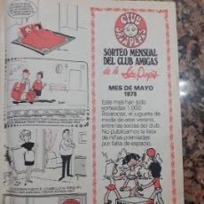 Coleccionismo de Revistas y Periódicos: ANUNCIO SRTA PEPIS. Lote 207119856
