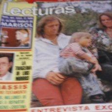Coleccionismo de Revistas y Periódicos: ANA BELEN LOS PAYASOS DE LA TELE JUAN BAU MARISOL BLANCA ESTRADA IÑIGO JAIME MOREY 1974. Lote 207140863