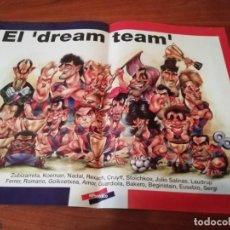 Coleccionismo de Revistas y Periódicos: PÓSTER BARÇA EL DREAM TEAM OBSEQUIO DE EL PERIODICO. Lote 207141837
