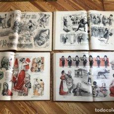 Collezionismo di Riviste e Giornali: DON QUIJOTE PERIÓDICO AÑOS 1892 1893 1894 1895 1896 1897 1898. Lote 207159378