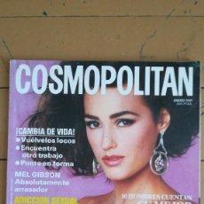 Coleccionismo de Revistas y Periódicos: REVISTA COSMOPOLITAN, ENERO 1991. Lote 207192887