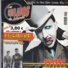Coleccionismo de Revistas y Periódicos: 2 REVISTA LOS CHIFLADOS DE INTERNET Nº 2 Y 3 SIN CD MUY DIFICIL DE CONSEGUIR.. Lote 207211353