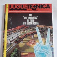 Coleccionismo de Revistas y Periódicos: REVISTA JUGUETECNICA N° 9. NOVIEMBRE 1989. REVISTA DE MODELISMO. Lote 207220578