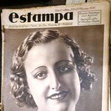 Coleccionismo de Revistas y Periódicos: ESTAMPA. REVISTA GRAFICA. AÑO 8 Nº 375 23 MARZO 1935 - A-REVIL-0607. Lote 207231851