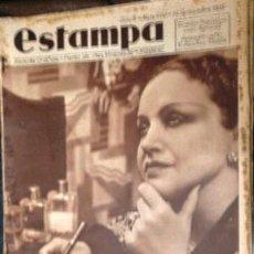 Coleccionismo de Revistas y Periódicos: ESTAMPA. REVISTA GRAFICA. AÑO 8 Nº 400 14 SEPTIEMBRE 1935 - A-REVIL-0611. Lote 207232520