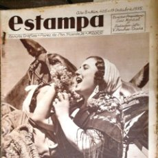Coleccionismo de Revistas y Periódicos: ESTAMPA. REVISTA GRAFICA. AÑO 8 Nº 405 19 OCTUBRE 1935 - A-REVIL-0612. Lote 207232641