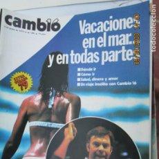 Coleccionismo de Revistas y Periódicos: CAMBIO 16 REVISTA Nº 391 - JUNIO 1979 - POR QUE SE PLANTO FELIPE HISTORIA DE UNA CONSPIRACION. Lote 207234586