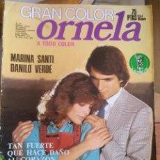 Coleccionismo de Revistas y Periódicos: FOTONOVELA ORNELA GRAN COLOR NÚMERO 59. Lote 207234598